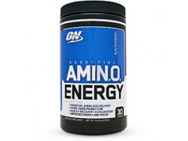 Optimum Nutrition (ON) Amino Energy - 30 Servings 9.5 OZ (270g) Blue Raspberry
