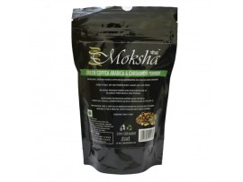 Moksha™ Green Coffee Arabica Powder blended with Cardamom Powder - 200 Grams